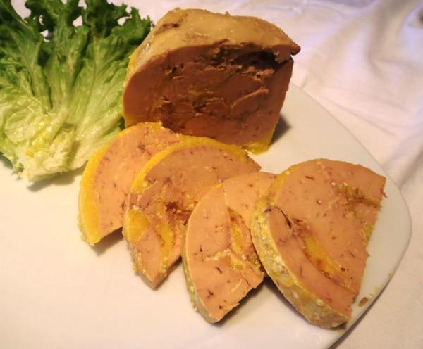 Foie gras de canard bocal