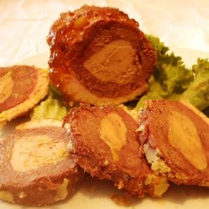 Magret farci au foie gras de canard